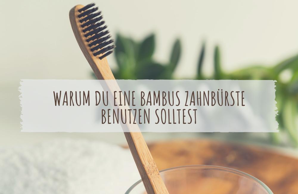 WARUM DU EINE BAMBUS ZAHNBÜRSTE BENUTZEN SOLLTEST