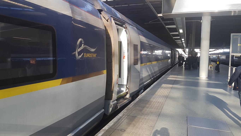 Mit dem Zug von Köln nach London Eurostar