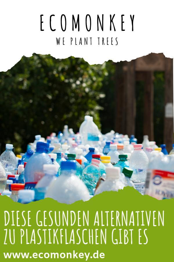 DIESE GESUNDEN ALTERNATIVEN ZU PLASTIKFLASCHEN GIBT ES
