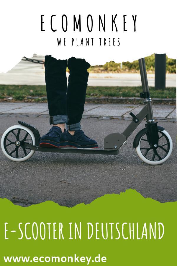 e-scooter in deutschland nutzung anbieter