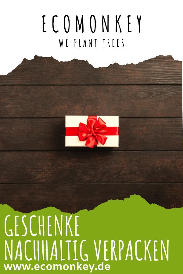 geschenke nachhaltig verpacken ecomonkey
