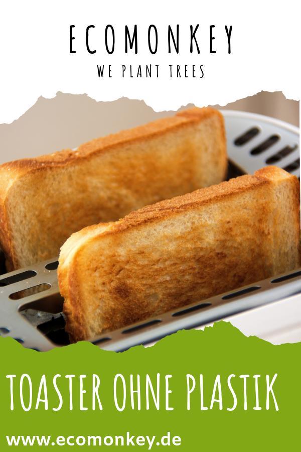 toaster ohne plastik aus edelstahl - ECOMONKEY