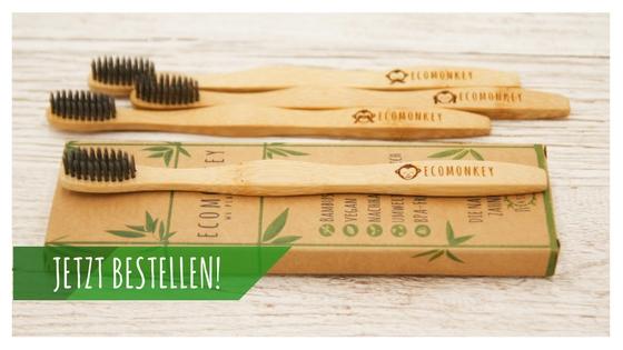 Vegane Bambus-Zahnbürste weich (1)