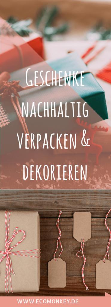 geschenke nachhaltig verpacken & dekorieren. 11 Tipps für Weihnachten
