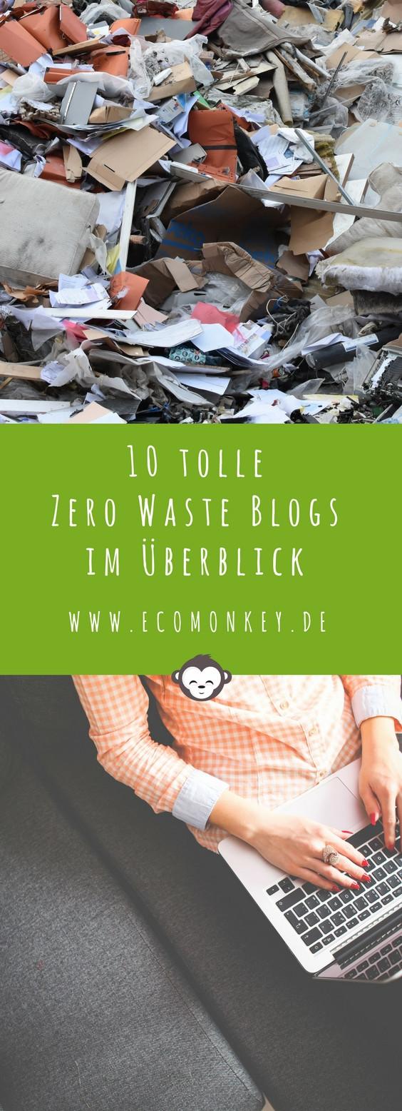 10 tolle zero waste blogs im Überblick Pinterest