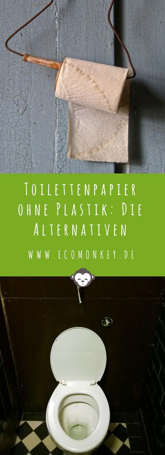 Toilettenpapier ohne Plastik Alternativen kaufen