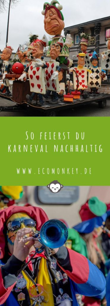 So feierst du Karneval nachhaltig und mit weniger Müll