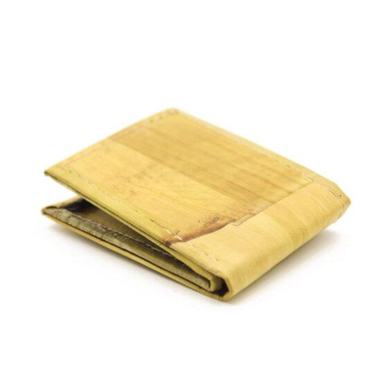 Geldbörse Unisex mit Münzfach aus Bananenblättern